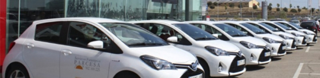 Toyota livrează prima flotă de maşini hibride din România