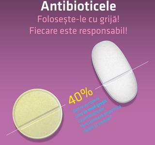 """Compania Antibiotice Iași susține Ziua europeană de informare """"Antibioticele – folosește-le cu grijă! Fiecare este responsabil!"""""""