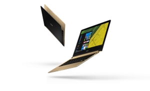 Acer Swift 7,cel mai subțire laptop din lume, este acum disponibil în România