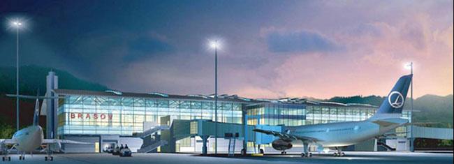 Consiliul Judeţean Braşov solicită Guvernului 40 de milioane de euro pentru finalizarea aeroportului