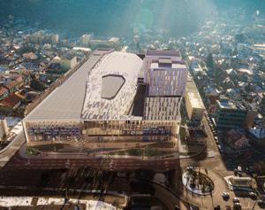 Locul fostei mari uzine Hidromecanica Braşov va fi luat un centru comercial şi de afaceri