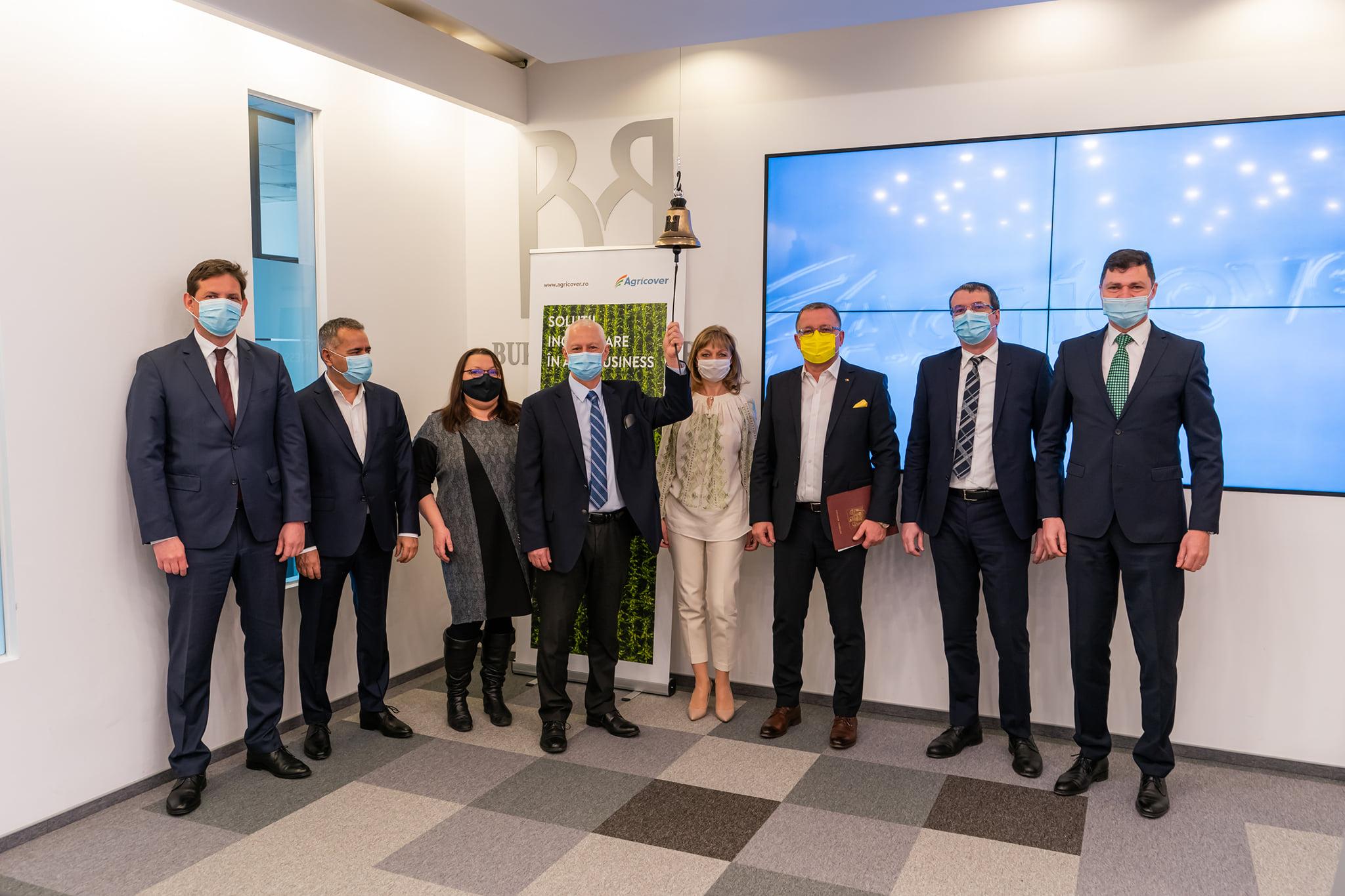 Obligaţiunile Agricover Holding au fost listate la Bursa de Valori Bucureşti