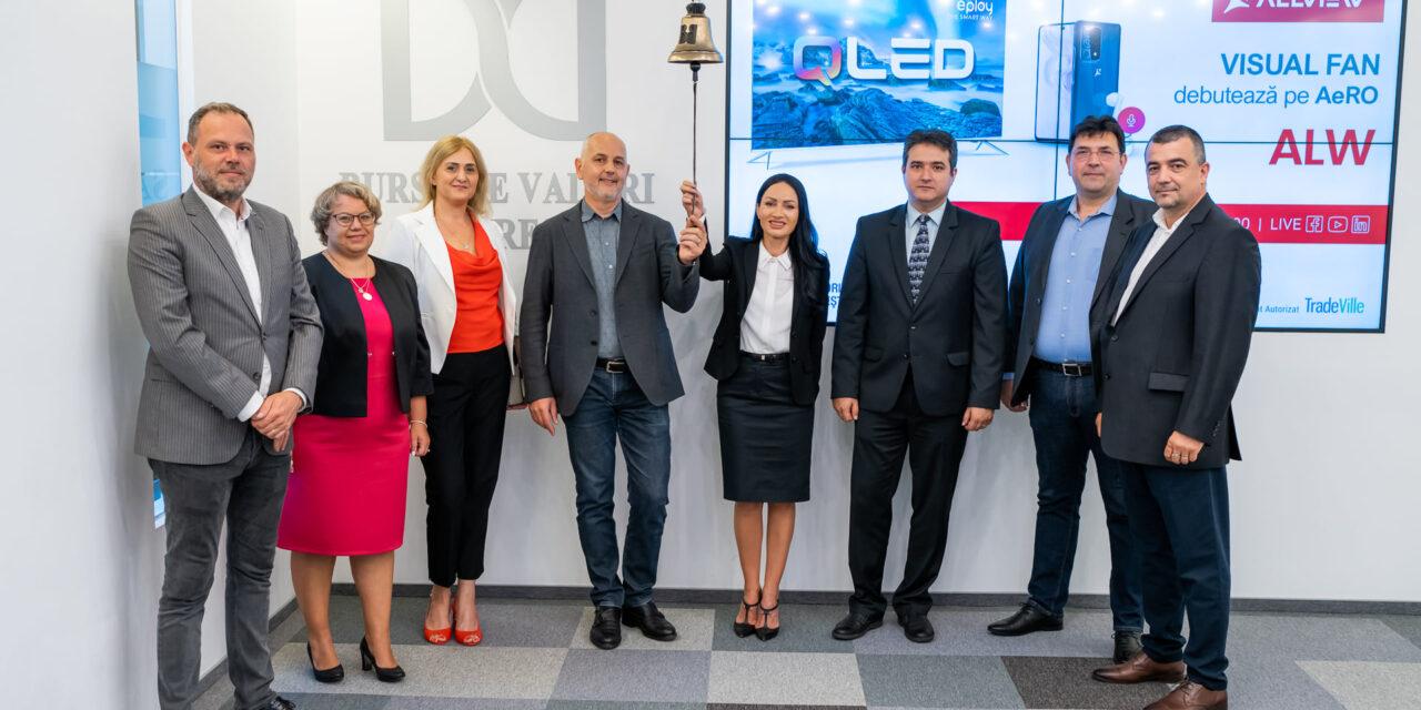 """Producătorul Allview s-a listat pe BVB, cu ambiţia de a deveni lider pe piaţa internă de televizoare """"smart"""""""