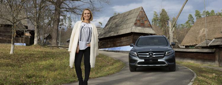 """Mercedes-Benz lansează prima sa campanie de brand pe plan local: """"Pe urmele celor mai buni"""""""