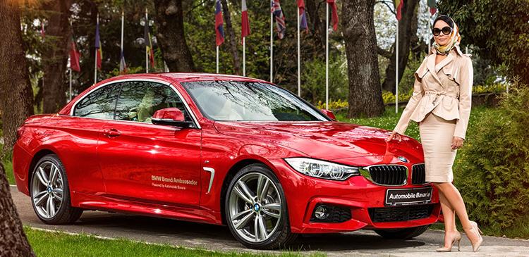 Andreea Marin a devenit Ambasador oficial al Automobile Bavaria Group pentru BMW