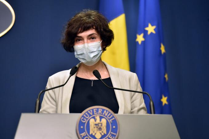 """Secretarul de stat Andreea Moldovan (MS) spune că nu se ia în discuţie în prezent o """"carantinare naţională"""""""