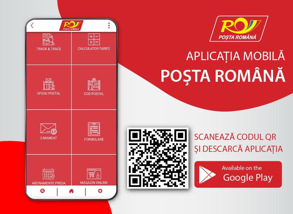 Poşta Română şi-a lansat aplicaţia pentru telefoane mobile cu Android