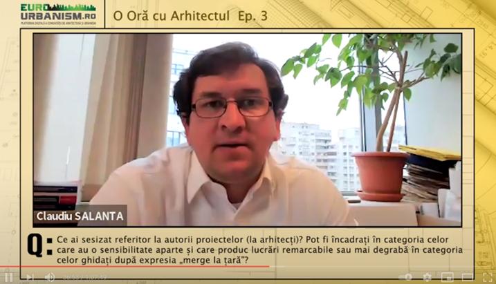 Arh. Claudiu Salanță: Arhitectura rurală este o piață care poate susține activitatea unui birou de arhitectură