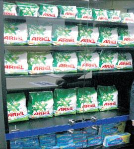 Ariel și Pampers sunt cele mai importante branduri din România