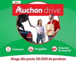 Auchan lansează și în România serviciul Auchan Drive