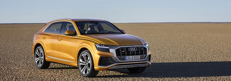 Audi Q8 va fi disponibil în România de la 76.500 de euro