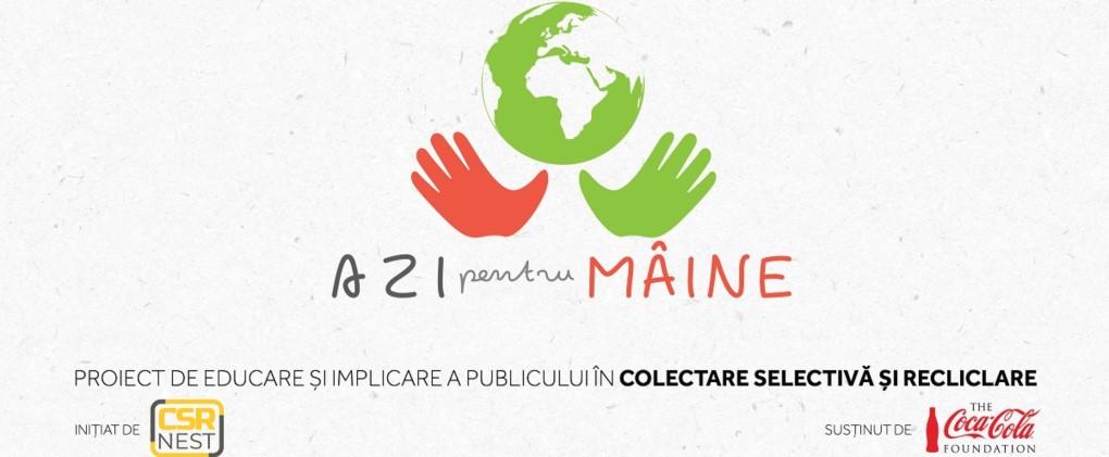 Asociația CSR Nest lansează ghidul de colectare separată a deșeurilor, în cadrul platformei Azi pentru Mâine