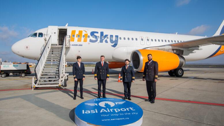 O companie aeriană din Republica Moldova şi-a deschis bază pe Aeroportul  Internaţional Iaşi