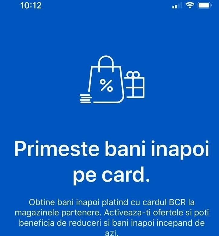 BCR lansează George Moneyback, o nouă funcţie a platformei de digital banking a băncii