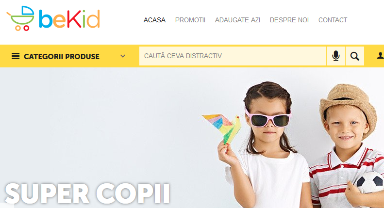 Primul magazin online din România care introduce căutarea vocală