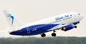 Blue Air inaugurează opt noi rute de zbor din România, începând din vara acestui an