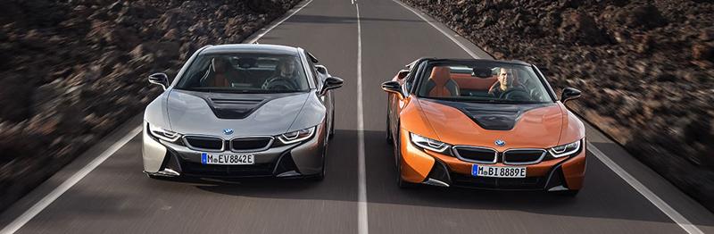 Noile BMW i8 Roadster şi BMW i8 Coupe au fost lansate oficial
