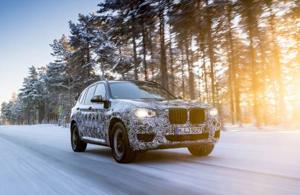 Cum este supus testelor în condiţii de iarnă noul BMW X3