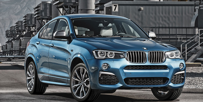 Noul BMW X4 M40i va fi disponibil în România de la 55.500 de euro