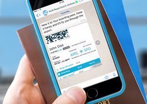 KLM, prima companie aeriană cu cont confirmat de WhatsApp Business