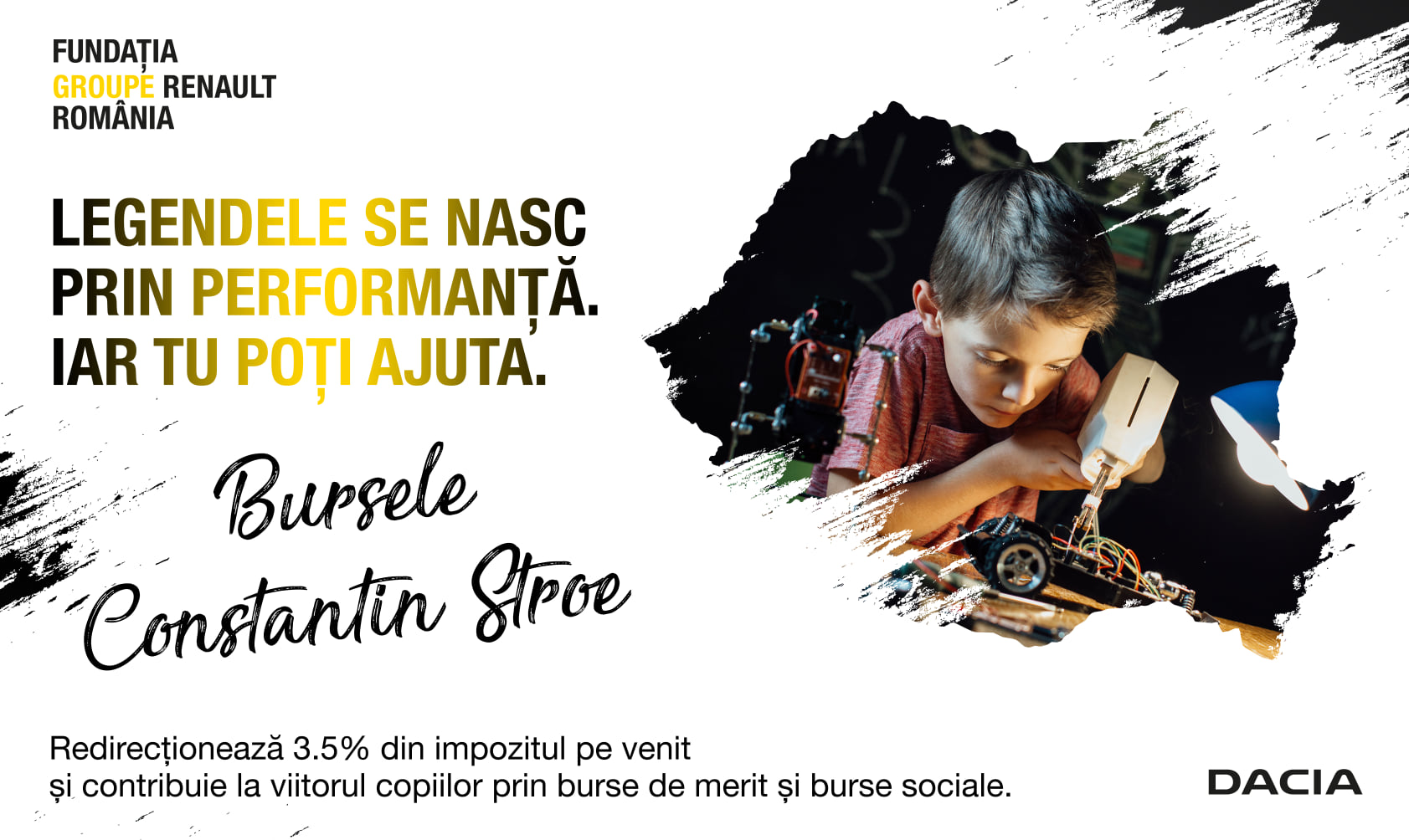 """Fundaţia Groupe Renault România lansează programul educaţional de burse """"Constantin Stroe"""""""