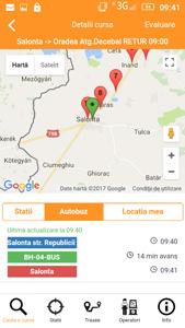 Consiliul Județean Bihor a lansat aplicaţia mobilă pentru transportul public, cu 42 de operatori licenţiaţi