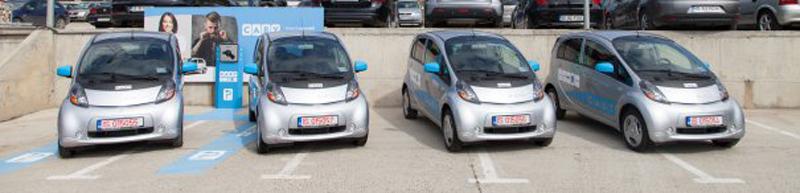 La Iași s-a lansat primul serviciu de carsharing din România cu mașini exclusiv electrice