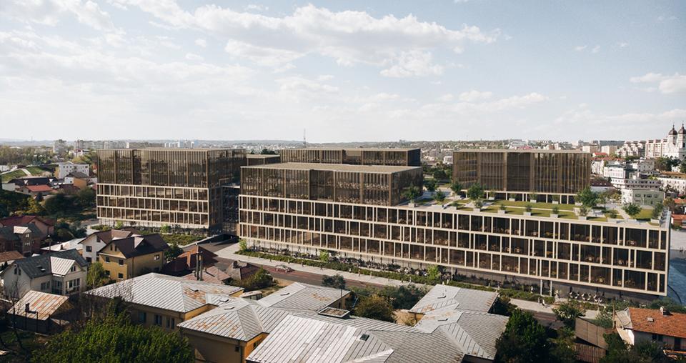 La Iași au demarat lucrările de construcție la Palas Campus, una dintre cele mai mari clădiri de birouri din România