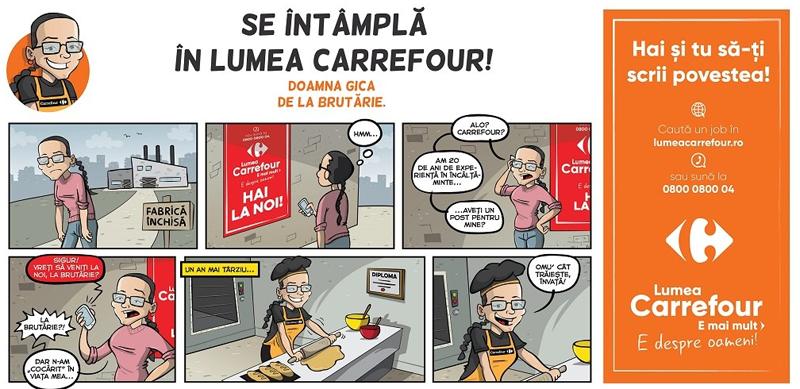 Carrefour lansează o nouă campanie de brand de angajator