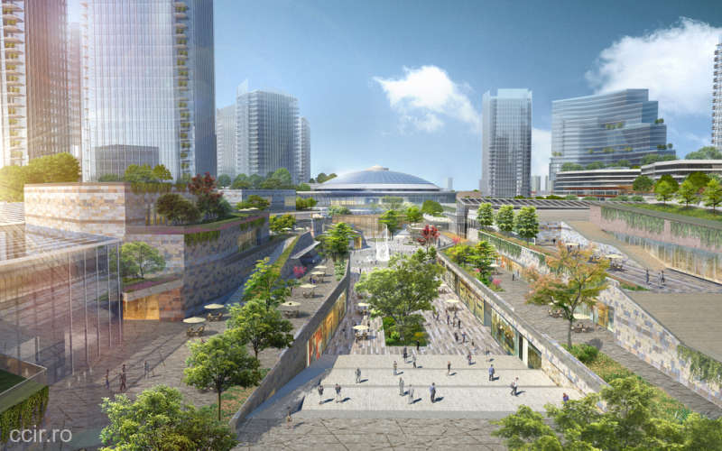 Cum va arăta proiectul de aproape trei miliarde de euro pe care îl demarează Iulian Dascălu la Romexpo