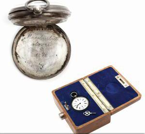 Ceasul lui Eminescu, adjudecat la licitație cu 19.000 de euro