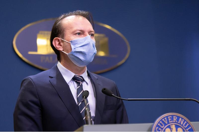 Florin Cîţu: Am propus ca în birourile în care toate persoanele sunt vaccinate anti-COVID să nu se mai poarte mască