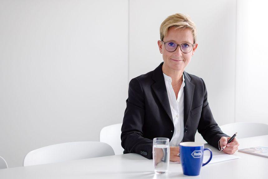 Claudia Fleischer este noul director general al companiei farmaceutice Roche România