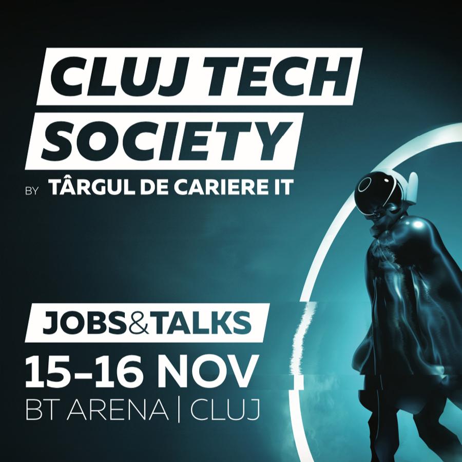Cluj Tech Society, un nou eveniment de recrutare și employer branding în IT din România
