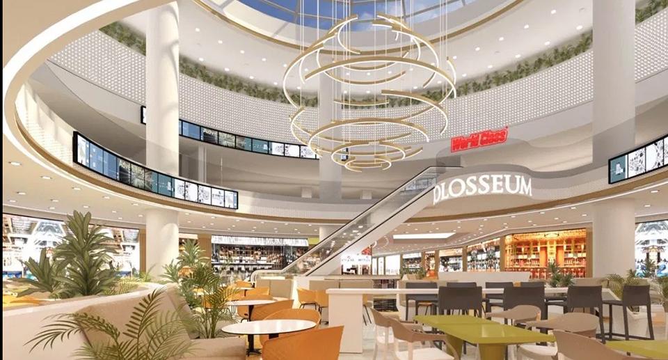 Deschiderea Colosseum Mall a fost amânată pentru 2021