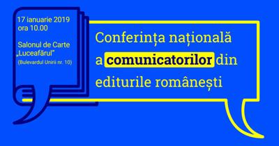 Prima conferință națională dedicată profesioniștilor în comunicare din editurile românești