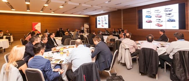 Prezentări aplicate și lecții practice de safety driving la cea de-a doua ediție a Conferinței de Management Modern al Flotelor Auto