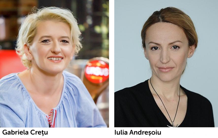 Gabriela Crețu și Iulia Andreșoiu au fost cooptate în echipa executivă a companiei Ursus Breweries