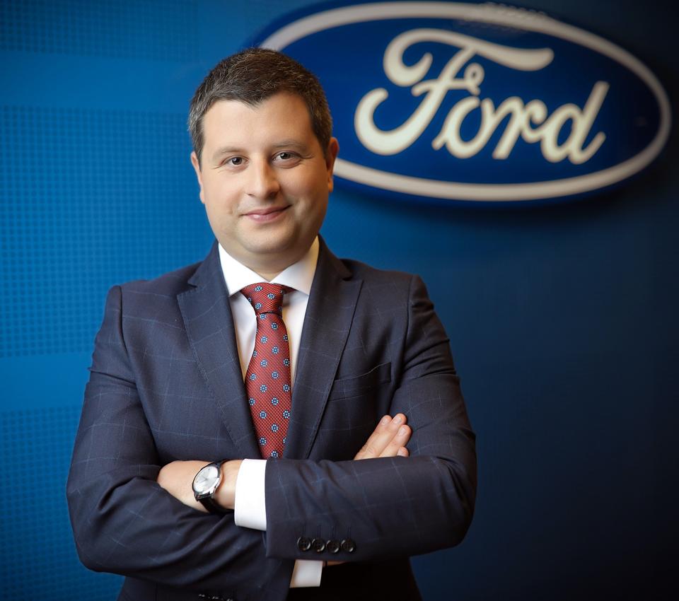 Cristian Prichea este noul Director General de Vânzări al Ford România