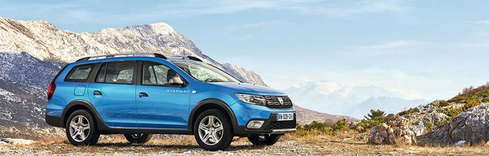 Familia Dacia se măreşte cu noul Logan MCV Stepway