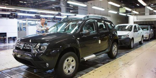Exporturile Dacia au crescut cu 10%, în ciuda scăderii vânzărilor în Franţa şi Germania