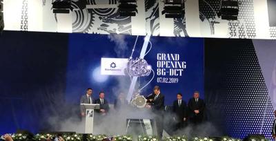 Concernul german Daimler a inaugurat la Sebeş producţia cutiilor de viteze 8G-DCT