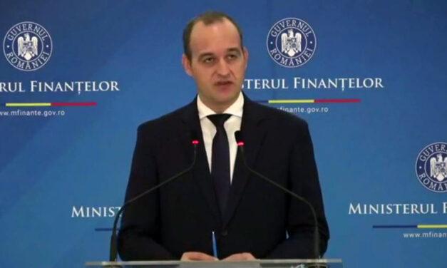 Ministrul Finanţelor, despre zero taxe pe salariul minim: Mi-e greu să cred că putem aplica în acest moment