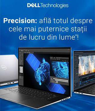 Dell Technologies lansează noile modele din seriile Precision, cele mai puternice stații de lucru din lume