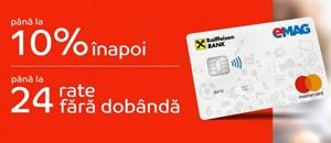 eMAG și Raiffeisen Bank lansează un card co-branded de cumpărături Mastercard
