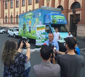 Statia de Reciclare, campania ECOTIC dedicata mediului rural, ia startul si in judetul Brasov