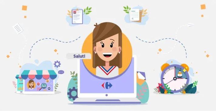 Carrefour România lansează un ecosistem digital care automatizează procesele de resurse umane
