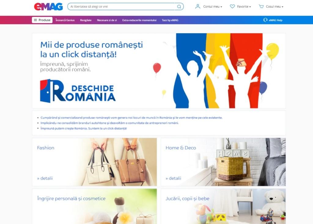 eMAG investește 3 milioane de lei într-un program de sprijin pentru retailerii offline