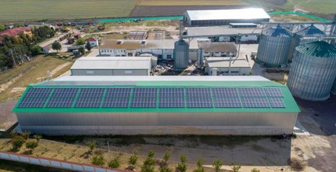 Enel X România a instalat un sistem de panouri fotovoltaice pe fabrica de ulei vegetal a companiei LTA Mondial