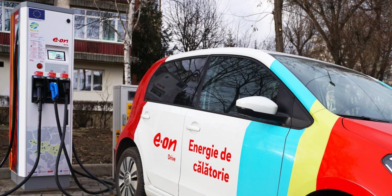 E.ON Energie a finalizat instalarea celor 19 staţii de încărcare rapidă a maşinilor electrice, din proiectul NEXT-E